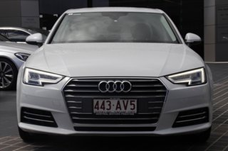 2016 Audi A4 B9 8W MY16 Sport S Tronic White 7 Speed Sports Automatic Dual Clutch Sedan