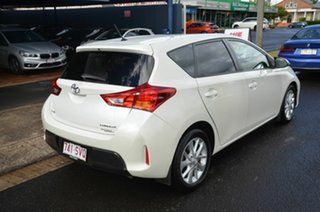 2012 Toyota Corolla ZRE182R Ascent Sport White 7 Speed CVT Auto Sequential Hatchback.