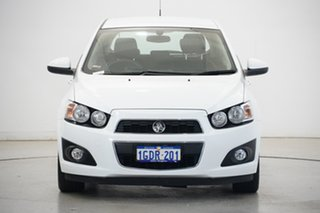 2016 Holden Barina TM MY16 CDX White 6 Speed Automatic Hatchback.