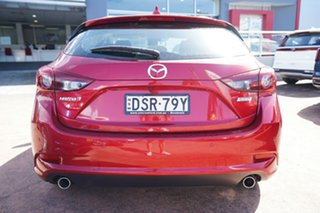 2017 Mazda 3 BN MY17 SP25 GT Red 6 Speed Automatic Hatchback