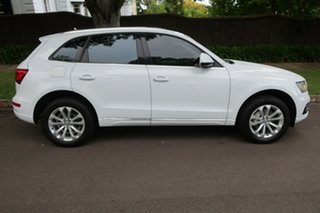 2013 Audi Q5 8R MY13 TFSI Tiptronic Quattro White 8 Speed Sports Automatic Wagon