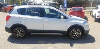2013 Suzuki S-Cross JY GLX 4WD Prestige White 7 Speed Constant Variable Hatchback.