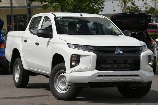 Used Mitsubishi Triton MR MY19 GLX Double Cab ADAS Windsor, 2019 Mitsubishi Triton MR MY19 GLX Double Cab ADAS White 6 Speed Manual Utility