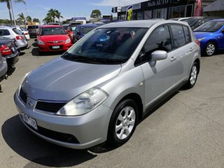 2006 Nissan Tiida C11 ST Silver 6 Speed Manual Hatchback.