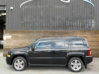 2007 Jeep Patriot MK MY2007 Sport Black 6 Speed Manual Wagon