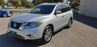 2013 Nissan Pathfinder R52 MY14 ST X-tronic 2WD Silver 1 Speed Constant Variable Wagon