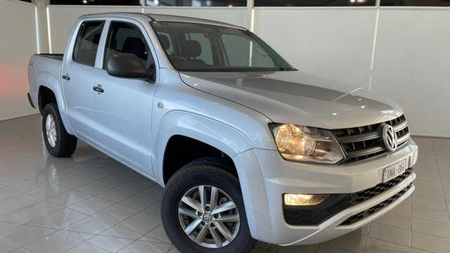 Used Volkswagen Amarok 2H MY17 TDI420 4MOTION Perm Core Deer Park, 2017 Volkswagen Amarok 2H MY17 TDI420 4MOTION Perm Core Silver 8 Speed Automatic Utility