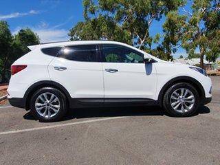 2016 Hyundai Santa Fe DM3 MY16 Elite White 6 Speed Sports Automatic Wagon.