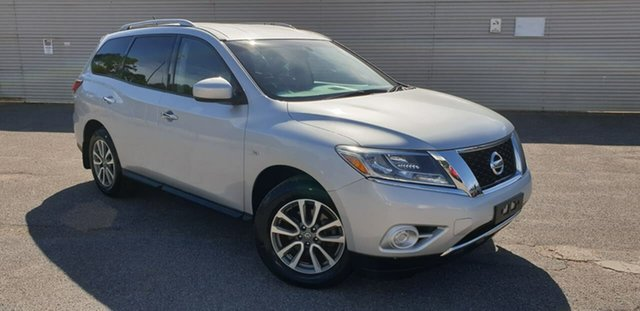 Used Nissan Pathfinder R52 MY14 ST X-tronic 2WD Elizabeth, 2013 Nissan Pathfinder R52 MY14 ST X-tronic 2WD Silver 1 Speed Constant Variable Wagon