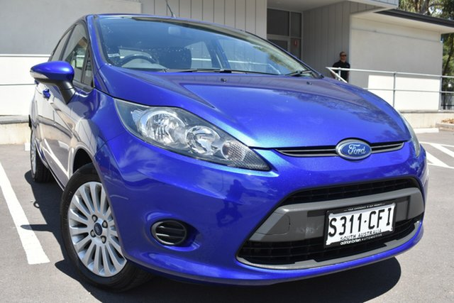 Used Ford Fiesta WT LX St Marys, 2012 Ford Fiesta WT LX Blue 5 Speed Manual Hatchback