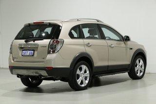 2011 Holden Captiva CG MY10 LX (4x4) Gold 5 Speed Automatic Wagon