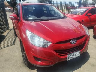2010 Hyundai ix35 LM MY11 Active Red 6 Speed Sports Automatic Wagon.