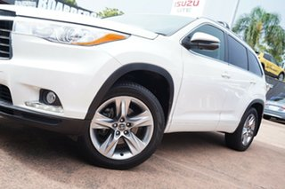 2016 Toyota Kluger GSU55R Grande (4x4) White 6 Speed Automatic Wagon.