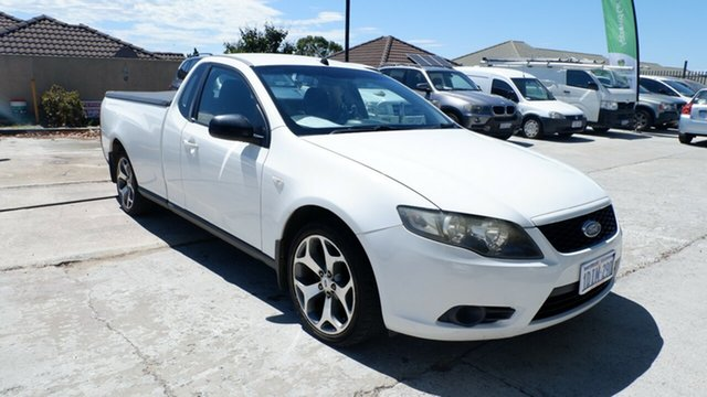 Used Ford Falcon FG Super Cab St James, 2010 Ford Falcon FG Super Cab White 5 Speed Automatic Cab Chassis
