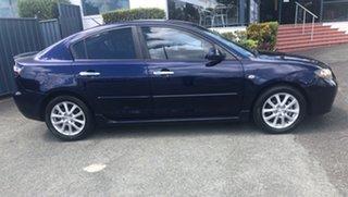 2008 Mazda 3 BK10F2 Maxx Blue 4 Speed Sports Automatic Sedan.