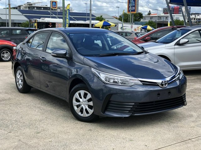 Used Toyota Corolla ZRE172R Ascent S-CVT Chermside, 2019 Toyota Corolla ZRE172R Ascent S-CVT Grey 7 Speed Constant Variable Sedan