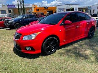 2012 Holden Cruze JH Series II MY13 SRi-V Red 6 Speed Sports Automatic Sedan.