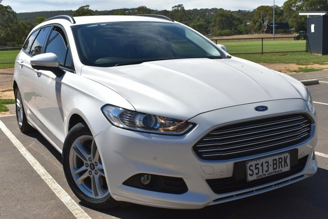 Used Ford Mondeo MD 2017.00MY Ambiente St Marys, 2017 Ford Mondeo MD 2017.00MY Ambiente White 6 Speed Sports Automatic Dual Clutch Wagon