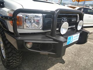 2015 Toyota Landcruiser VDJ79R Workmate White 5 Speed Manual Cab Chassis