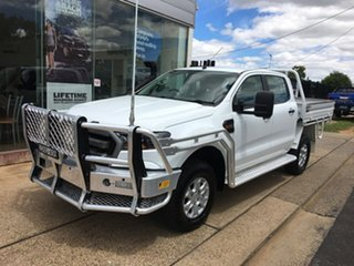 2017 Ford Ranger PX MkII XLS White Sports Automatic.