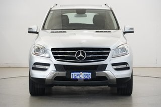 2012 Mercedes-Benz M-Class W166 ML250 BlueTEC 7G-Tronic + Silver 7 Speed Sports Automatic Wagon.