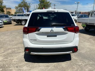 2016 Mitsubishi Outlander ZK MY16 Exceed 4WD White 6 Speed Constant Variable Wagon