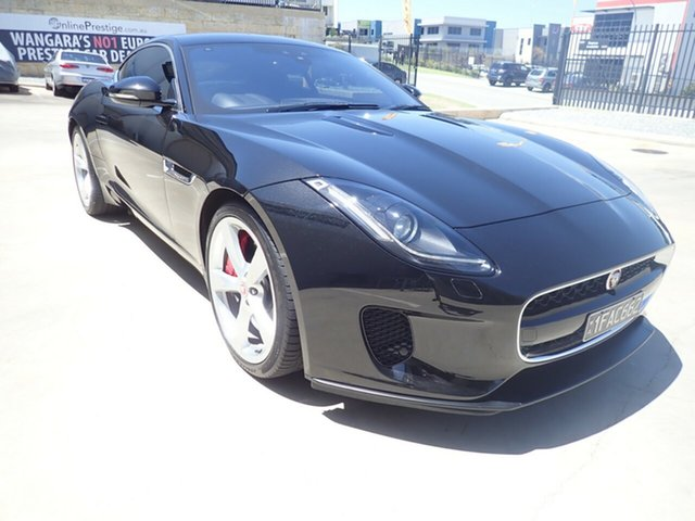 Used Jaguar F-TYPE MY18.5 2.0 RWD (221kW) Wangara, 2018 Jaguar F-TYPE MY18.5 2.0 RWD (221kW) Metallic Black 8 Speed Automatic Sequential Coupe