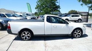2010 Ford Falcon FG Super Cab White 5 Speed Automatic Cab Chassis