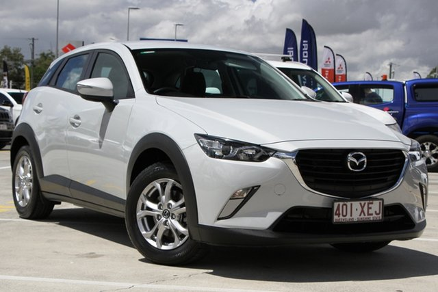 Used Mazda CX-3 DK2W7A Maxx SKYACTIV-Drive Aspley, 2017 Mazda CX-3 DK2W7A Maxx SKYACTIV-Drive White 6 Speed Sports Automatic Wagon