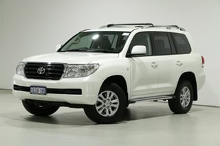 2010 Toyota Landcruiser UZJ200R 09 Upgrade 60th Anniversary L.E. White 5 Speed Automatic Wagon.