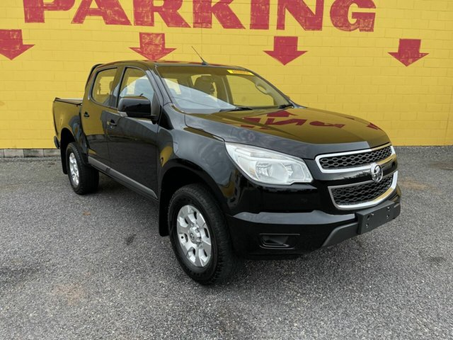 Used Holden Colorado RG MY16 LS Crew Cab Winnellie, 2016 Holden Colorado RG MY16 LS Crew Cab Black 6 Speed Sports Automatic Utility