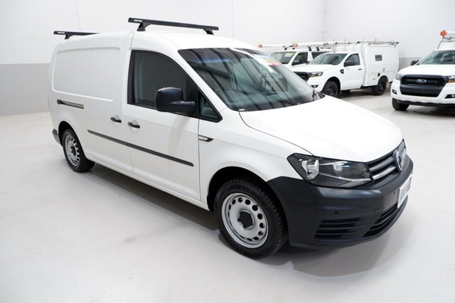 Used Volkswagen Caddy 2KN MY17.5 TSI220 Maxi DSG Kenwick, 2017 Volkswagen Caddy 2KN MY17.5 TSI220 Maxi DSG White 7 Speed Sports Automatic Dual Clutch Van