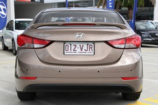 2014 Hyundai Elantra MD3 Active Bronze 6 Speed Sports Automatic Sedan