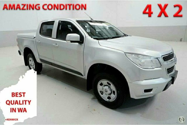 Used Holden Colorado RG MY15 LS Crew Cab 4x2 Kenwick, 2015 Holden Colorado RG MY15 LS Crew Cab 4x2 Silver 6 Speed Sports Automatic Utility