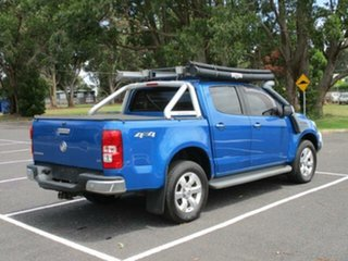 2015 Holden Colorado RG TURBO LTZ 4x4 Blue Automatic CREWCAB UTILITY