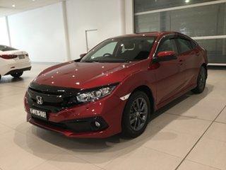 2020 Honda Civic 10th Gen MY20 VTi-S Ignite Red 1 Speed Constant Variable Sedan