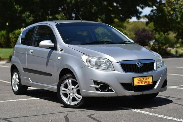 Used Holden Barina TK MY09 Enfield, 2008 Holden Barina TK MY09 Silver 4 Speed Automatic Hatchback
