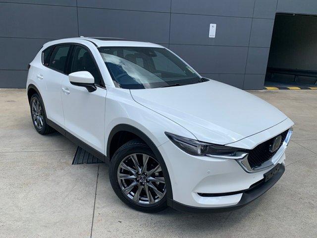 New Mazda CX-5 KF4WLA Akera SKYACTIV-Drive i-ACTIV AWD Alexandria, 2020 Mazda CX-5 KF4WLA Akera SKYACTIV-Drive i-ACTIV AWD Snowflake White 6 Speed Sports Automatic