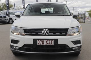2017 Volkswagen Tiguan 5N MY18 110TDI DSG 4MOTION Comfortline Pure White 7 Speed