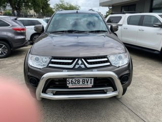 2015 Mitsubishi Challenger PC (KH) MY14 Iron Bark 5 Speed Sports Automatic Wagon.