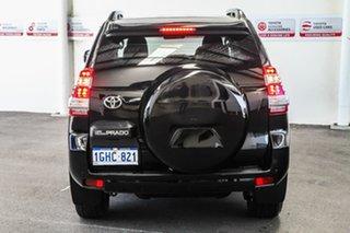 2017 Toyota Landcruiser Prado GDJ150R MY16 GXL (4x4) Ebony 6 Speed Automatic Wagon
