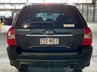 2009 Kia Sportage KM2 MY09 LX Black 5 Speed Manual Wagon