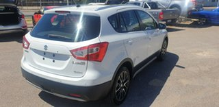 2013 Suzuki S-Cross JY GLX 4WD Prestige White 7 Speed Constant Variable Hatchback.