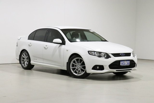 Used Ford Falcon FG MK2 XR6 Bentley, 2013 Ford Falcon FG MK2 XR6 White 6 Speed Auto Seq Sportshift Sedan