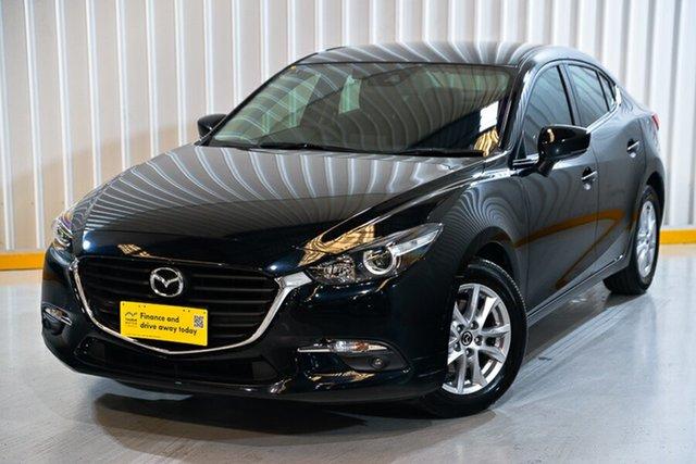 Used Mazda 3 BM5278 Maxx SKYACTIV-Drive Hendra, 2016 Mazda 3 BM5278 Maxx SKYACTIV-Drive Black 6 Speed Sports Automatic Sedan