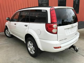 2012 Great Wall X200 K2 MY12 White 5 Speed Automatic Wagon.