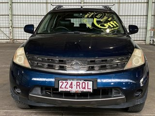 2005 Nissan Murano Z50 TI Blue 6 Speed Constant Variable Wagon