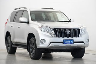 2015 Toyota Landcruiser Prado KDJ150R MY14 Altitude Silver 5 Speed Sports Automatic Wagon.