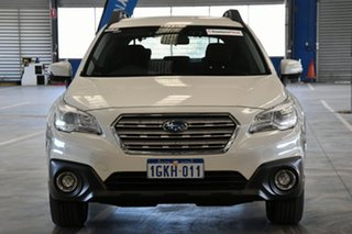 2017 Subaru Outback B6A MY17 2.0D CVT AWD Crystal White Pearl 7 Speed Constant Variable Wagon