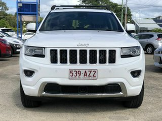 2015 Jeep Grand Cherokee WK MY15 Overland White 8 Speed Sports Automatic Wagon